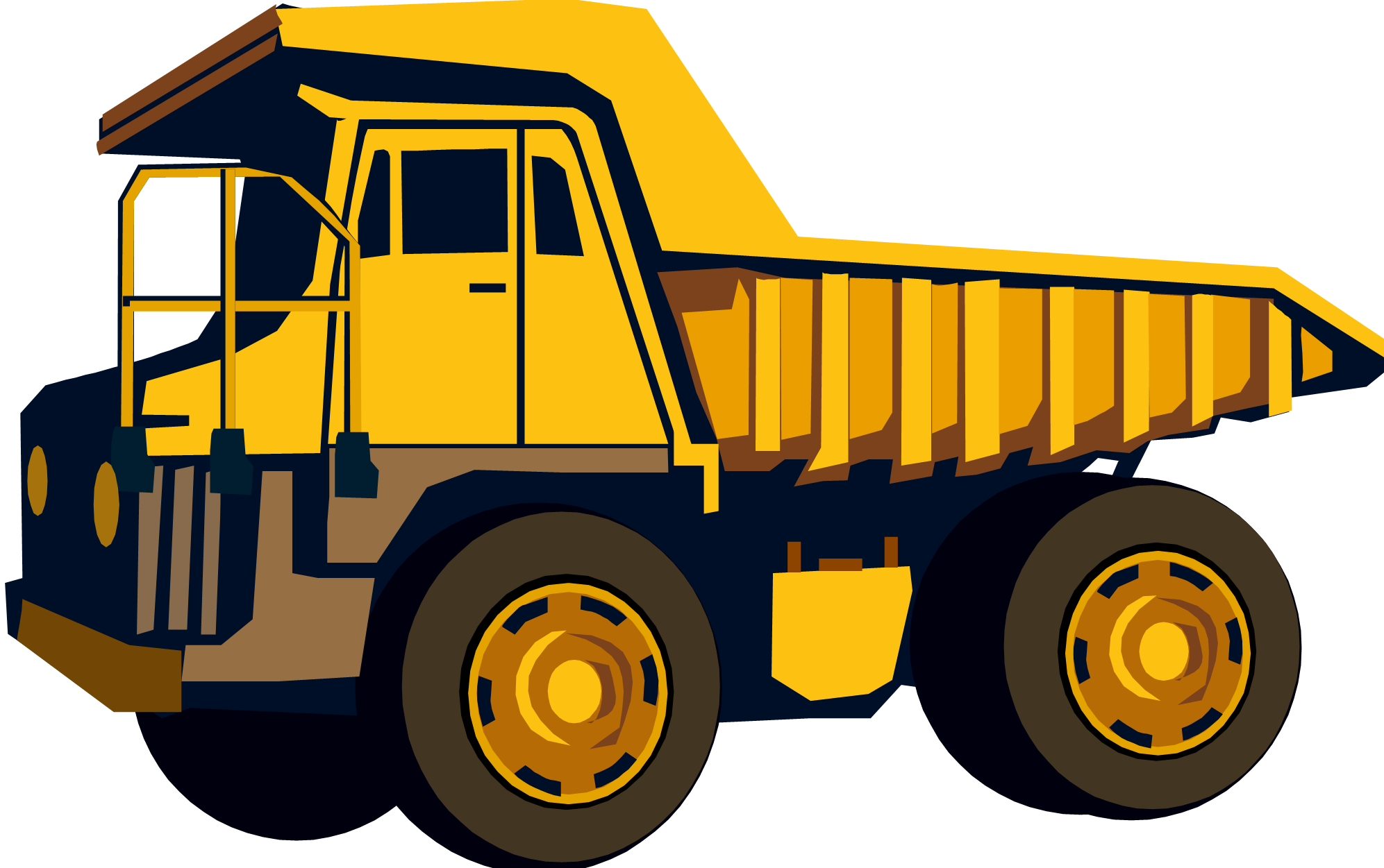 garbage graphic black. Dump clipart sand truck image transparent library