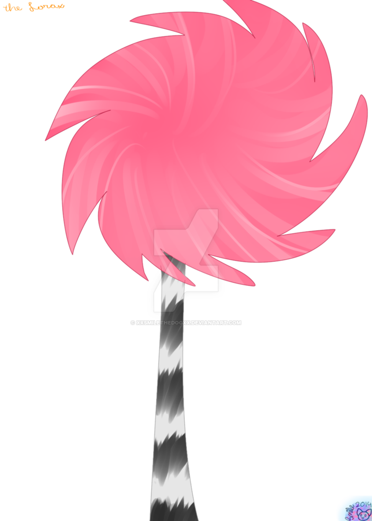 Lorax trees png. The tree by xxsmilethedogxx