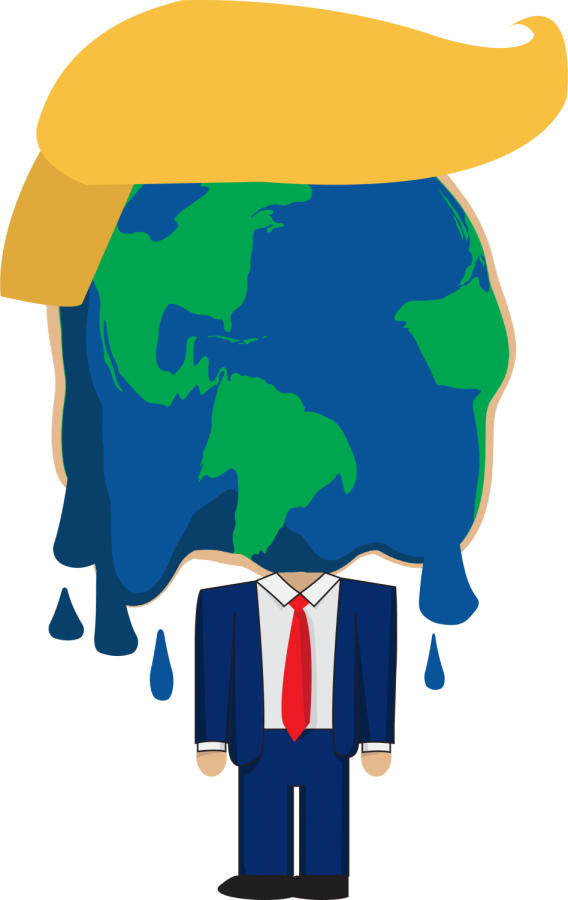 Trump clipart provocation. Global commentary s path