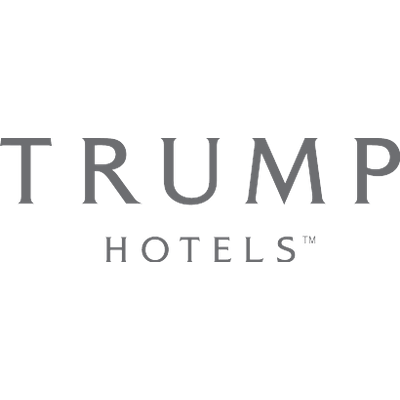 Trump logo png. Bw transparent stickpng hotels