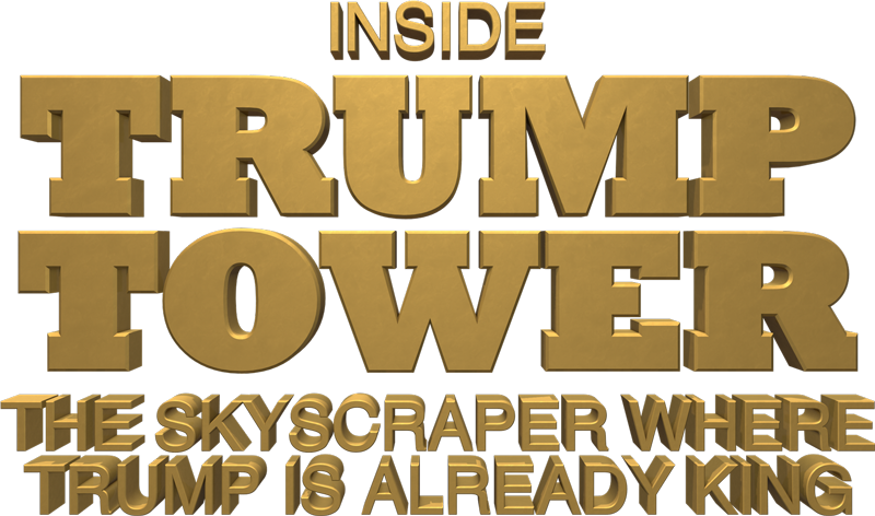 Trump logo png. Inside tower
