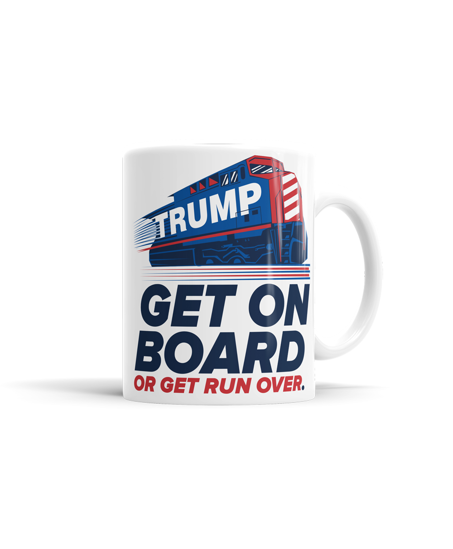 Trump train png. Get on board or