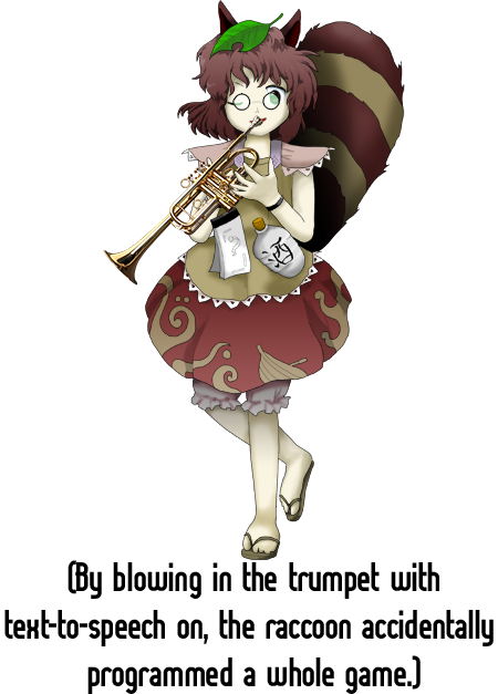 Trumpet boy meme png. Pretty much touhou project