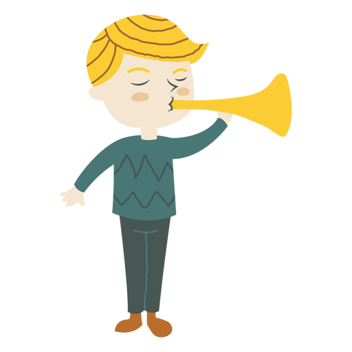 Trumpet horn png