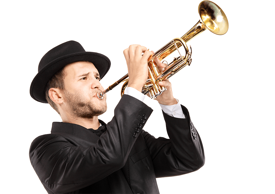 Trumpet player png. Trombone and euphonium lessons