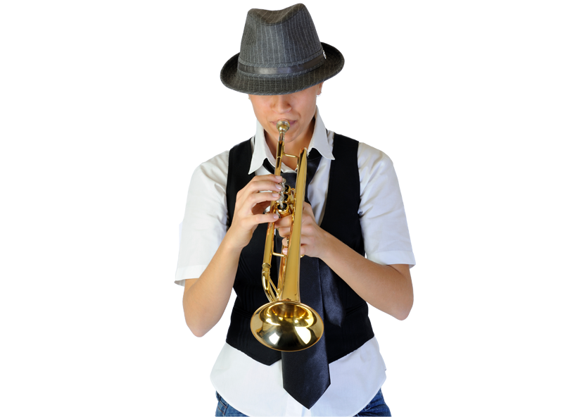 Trumpet player png. Lessons online