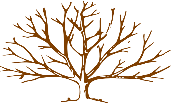 Wind clipart swirly. Bare tree trunk coloring