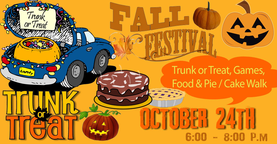Trunk or treat clipart fall festival. Annual and mt zion