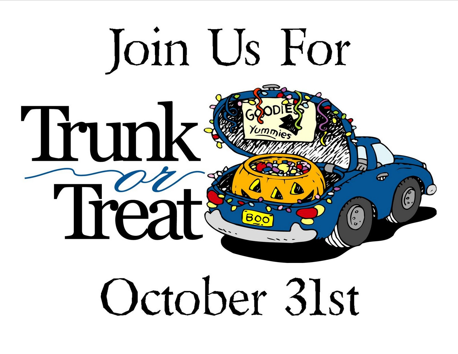 trunk or treat clipart religious