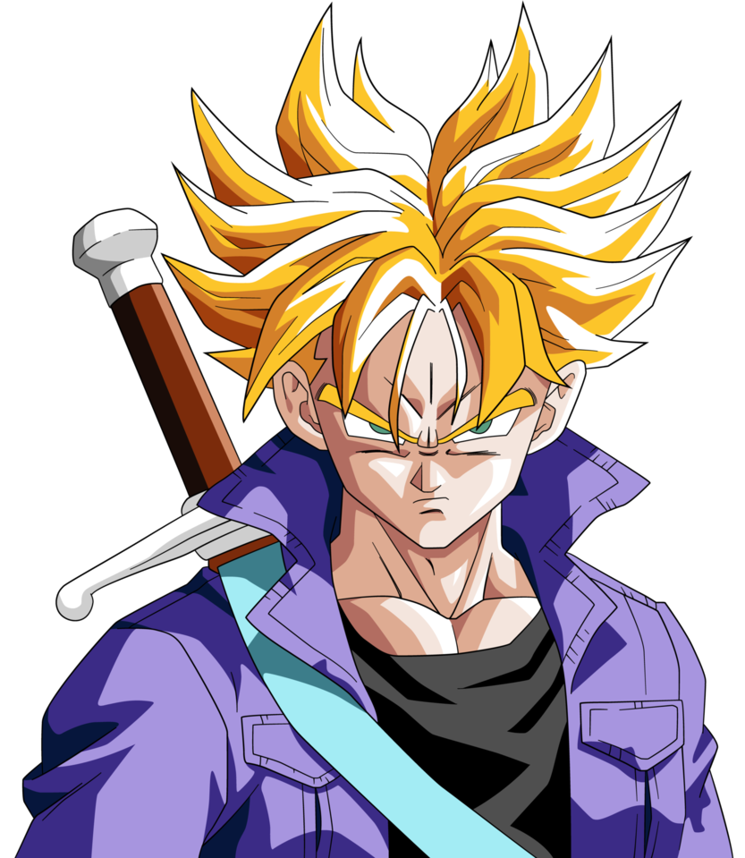 Trunks hair png. Future ssj is so