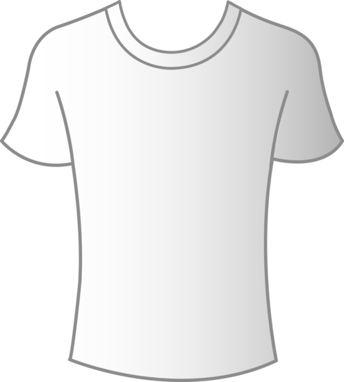 White shirt template png. Mens t free clip