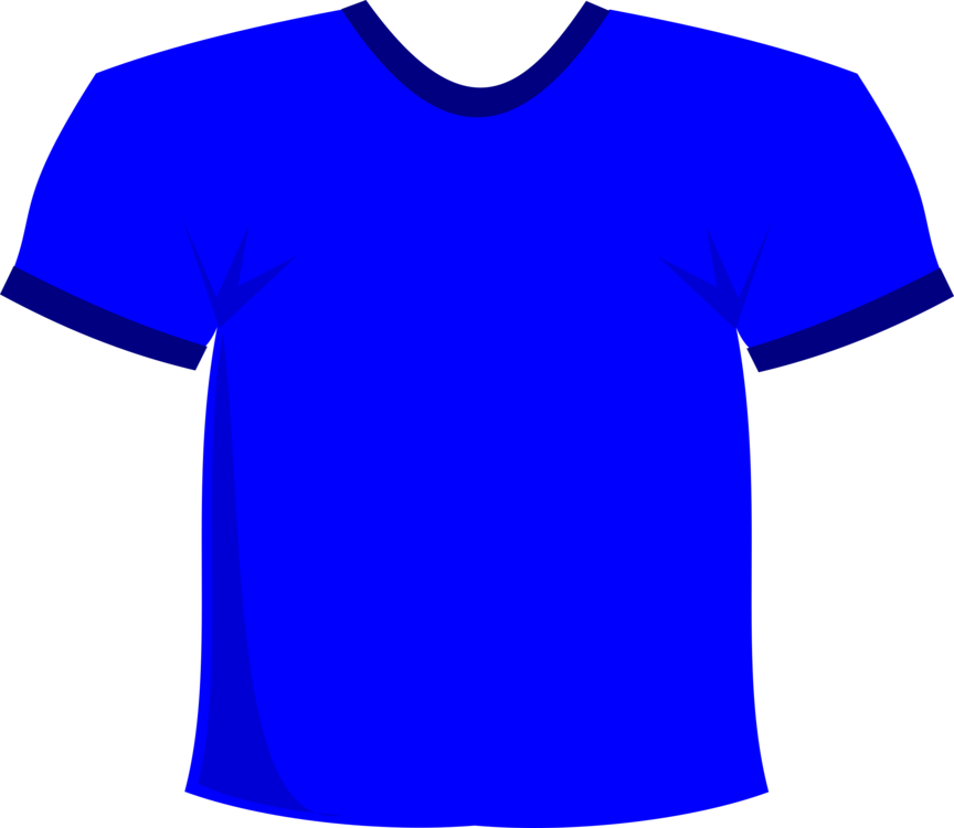 Tshirt clip football shirt. T clothing blue sleeve