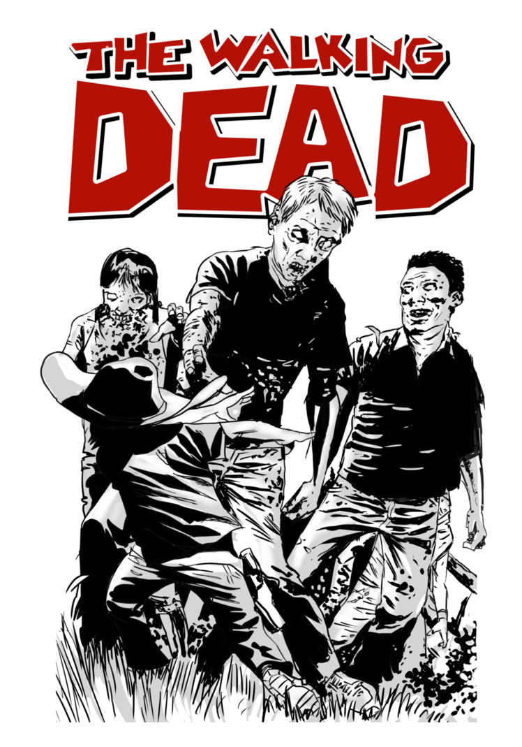 T shirt designs png. Walking dead a tshirt
