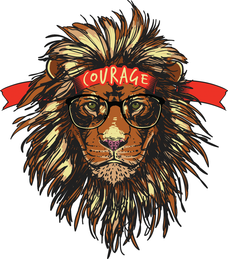 T shirt designs png. Courage best design buy