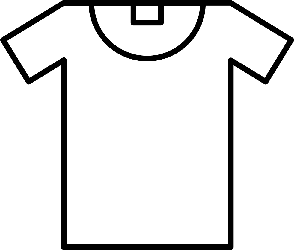 Tshirt outline png. T shirt svg icon