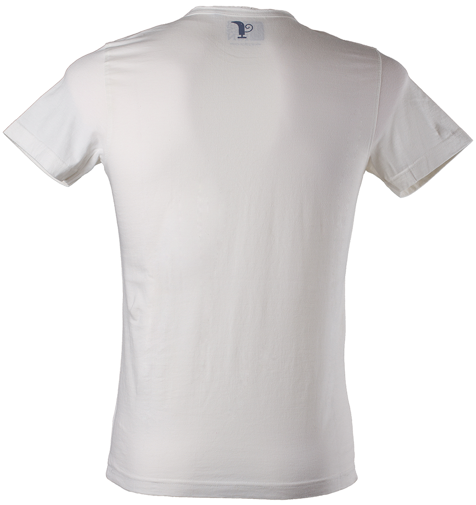 white t-shirt front and back png