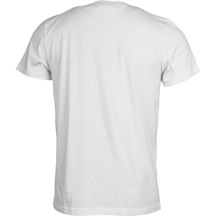 T-shirt png no background. Tshirt white back transparent