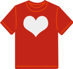 T shirt clipart i. Tshirt svg red picture free library