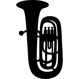 Sousaphone drawing svg. Browse silhouettes page tuba