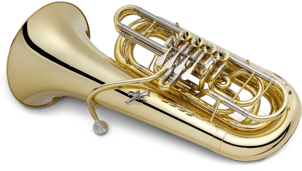 Tuba transparent different. Extended techniques researched by