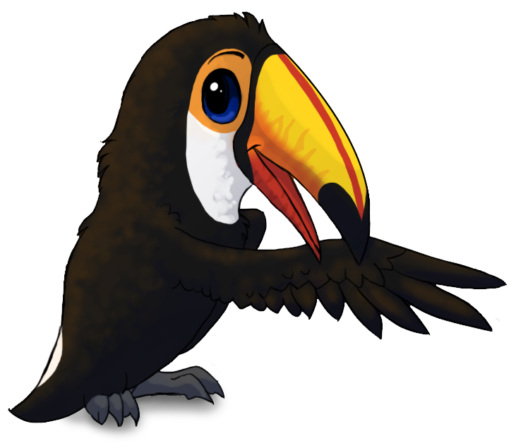 Tucan drawing. Toco toucan by starrypoke