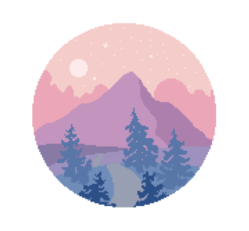 Tumbler circle png. Pixel art tutorial how
