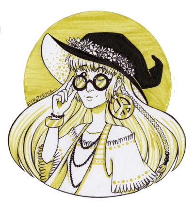Tumbler drawing hippie. Witch tumblr witchtober day