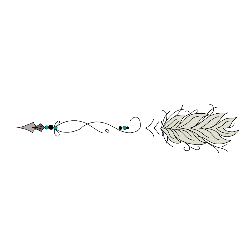 feather arrow png