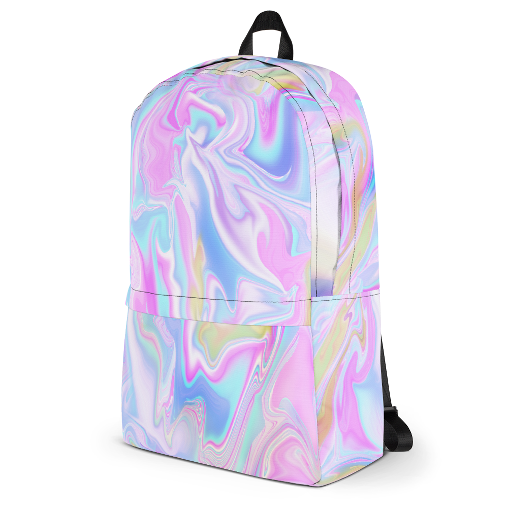 Tumblr backpack png. Holo marble soft grunge