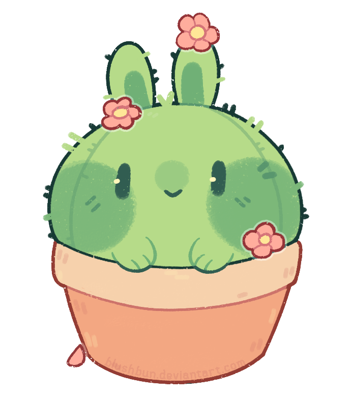 drawing cactus adorable
