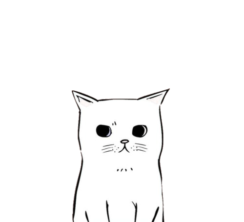 Tumblr cat png. Link this blog has