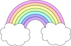 Tumblr clipart. Rainbow