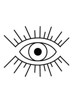 Tumblr clipart eye. All seeing symbol vector