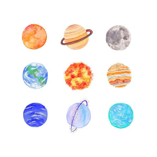 Tumblr clipart planet. Gallery for planets drawing