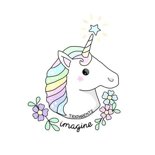 Tumblr clipart unicorn. Best transparents images