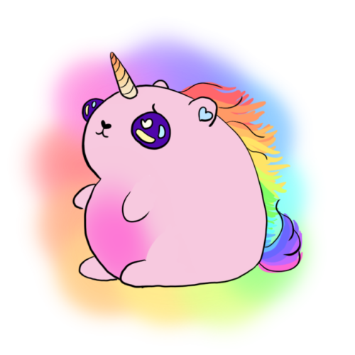 Tumblr clipart unicorn. Hamster unicorns um