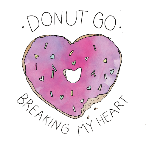 Tumblr donut png. Go breaking my heart
