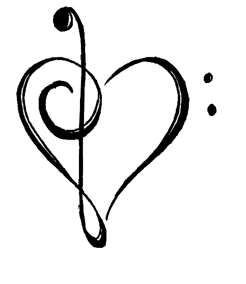 Tumblr music notes png. Image about love in