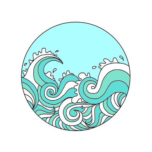 Tumblr ocean png. Collection of waves
