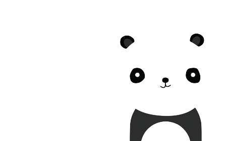 Tumblr panda png. Transparent pinterest transparentpanda