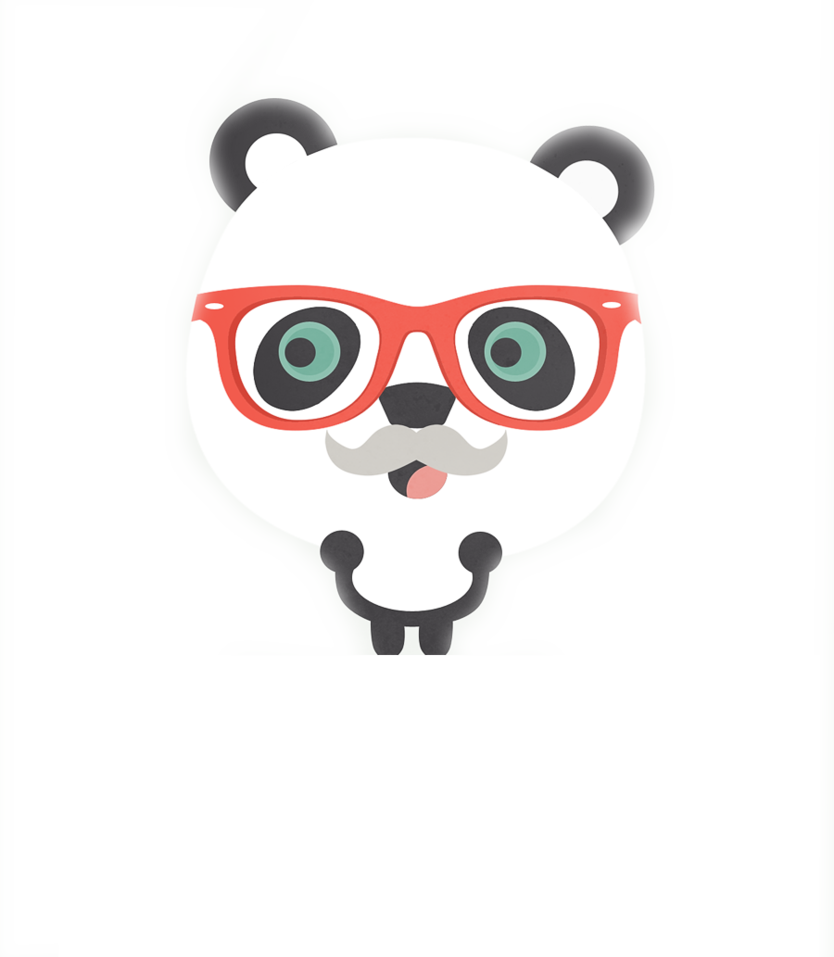 Tumblr panda png. Hipster by geneeditions on