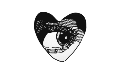 Heart tumblr png. Black artdoodleinkillustrationpng transparenteyeheartgrungeindiealternativeblack and
