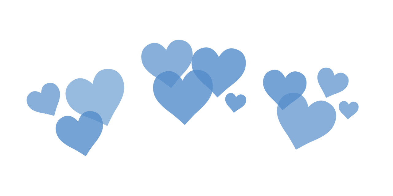 Tumblr png blue. Crown hearts freetoedit report