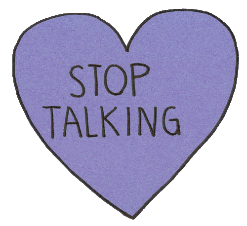 Tumblr png heart. Stop talking by feeling