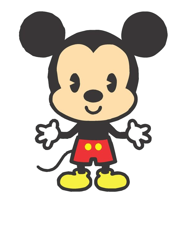 animate drawing mickey mouse