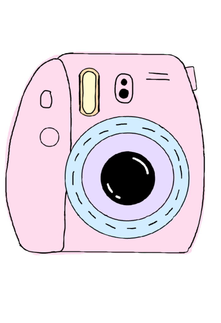 Polaroid picture clipart camera. Pin by sofi on