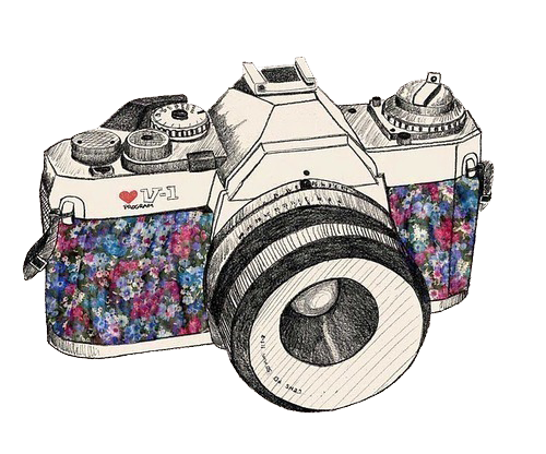 camera drawing png