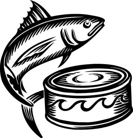 Tuna clipart fish protein. Have a can of