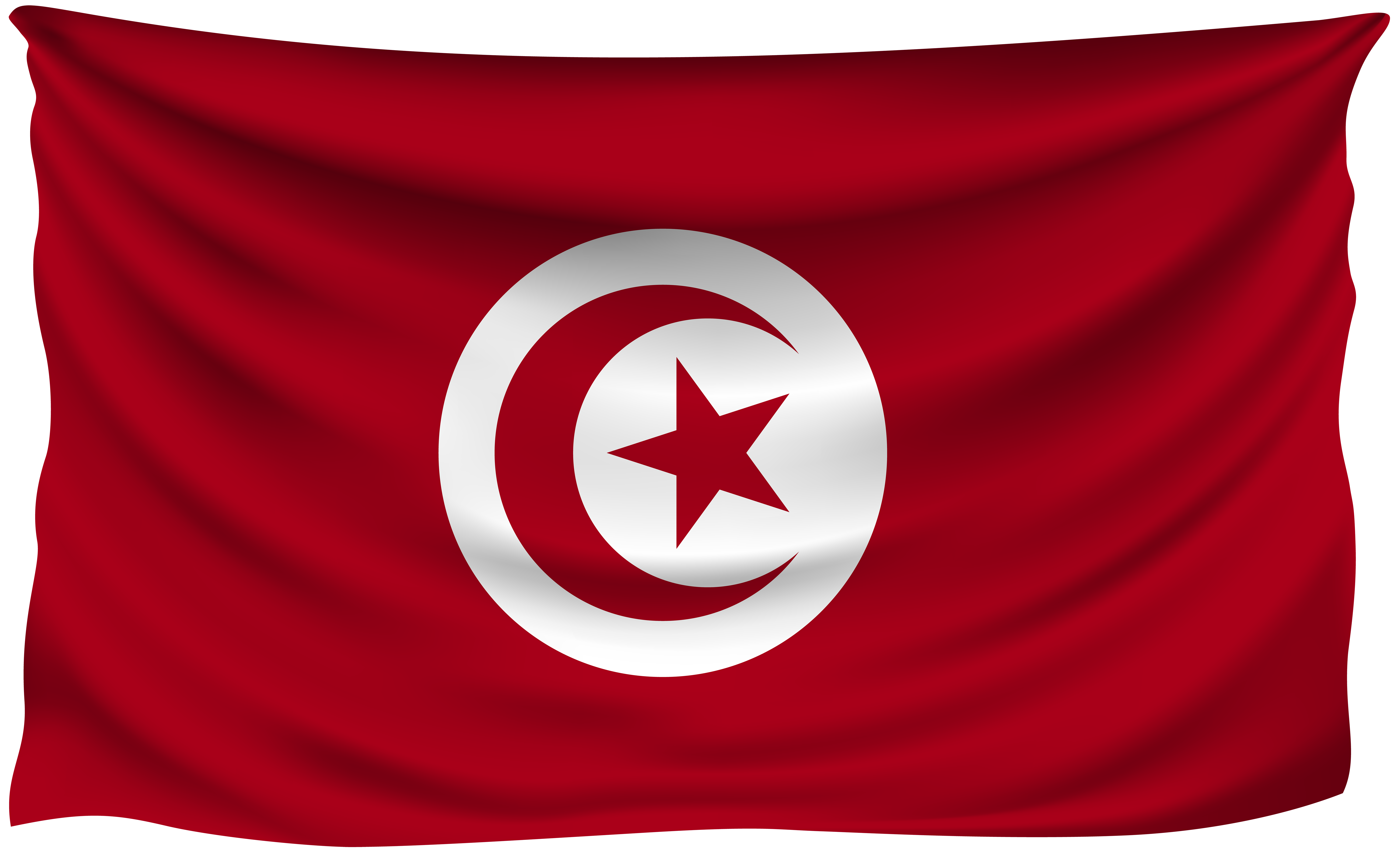 Tunisia flag png. Wrinkled gallery yopriceville high
