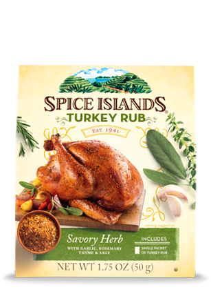 Turkey. Rub holiday kit spices